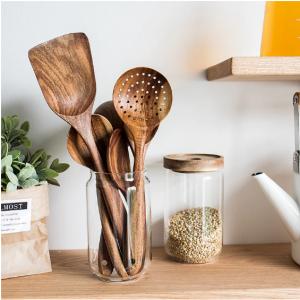 כלי הגשה ומטבח עץ