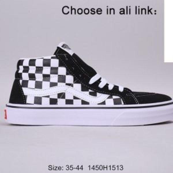 נעלי ואנס גבוהות