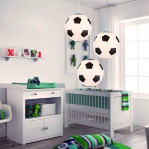 עיצוב חדר ילדים כדורגל