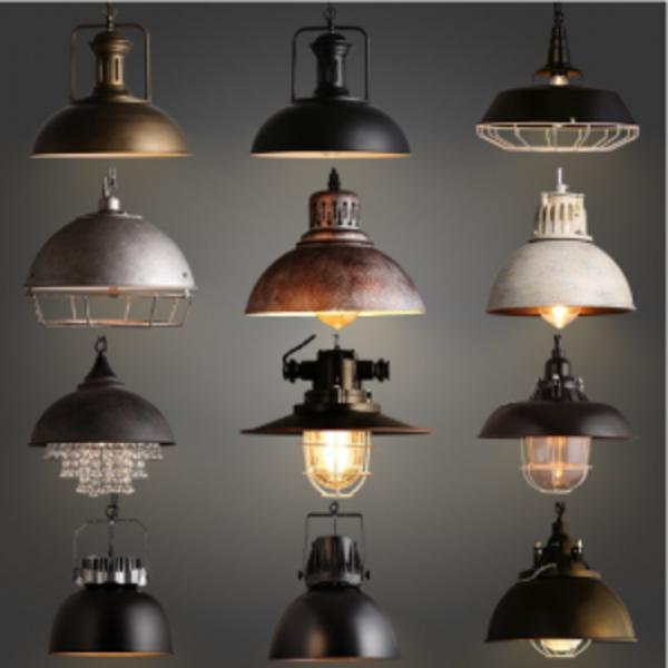 תאורה סגנון תעשייתי