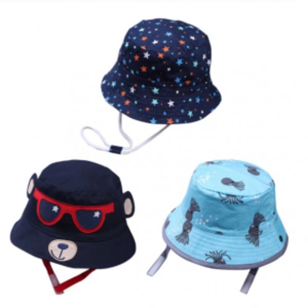 כובעי בד לקיץ לילדים