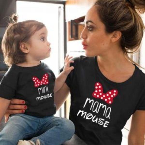 חולצת מיני מאוס תואמת לאמא ולבת