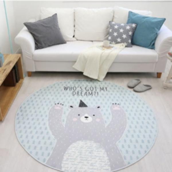 שטיחים עגולים לחדרי ילדים