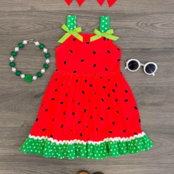 פירות קיץ בגדי ילדות
