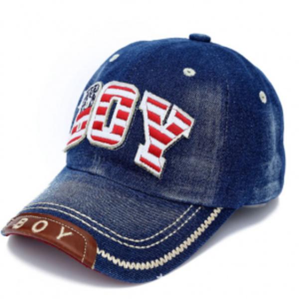 כובעי מצחיה ג'ינס ילדים