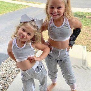 סט ספורטיבי לילדות
