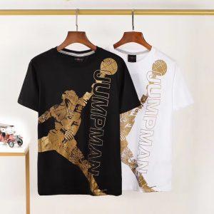 חולצות טי גורדן לוגו זהב