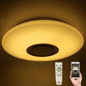 מנורת תקרה צבעונית