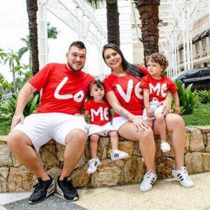 חולצת טי LOVE  לכל המשפחה