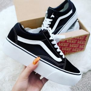 נעלי וואנס פלטפורמה