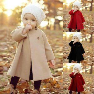 מעיל שכמייה לילדות